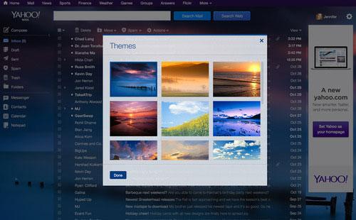 Yahoo Theme