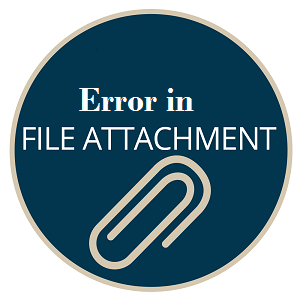 outlook file attachment error